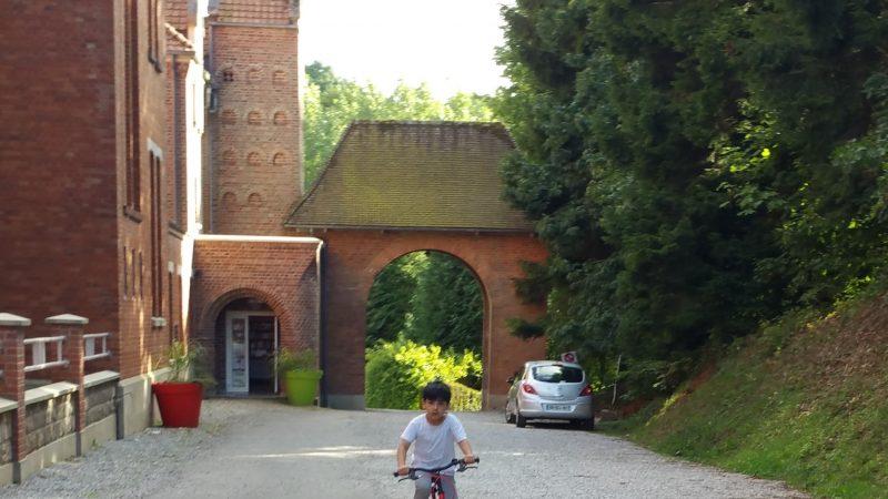 Réfugiés à l'abbaye mais pas pour longtemps