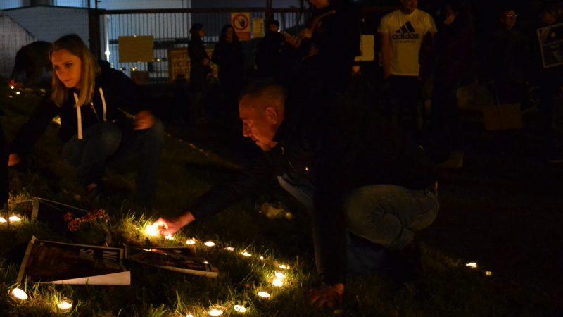 St-Pol : nuit de recueillement sous les hurlements des cochons de l'abattoir