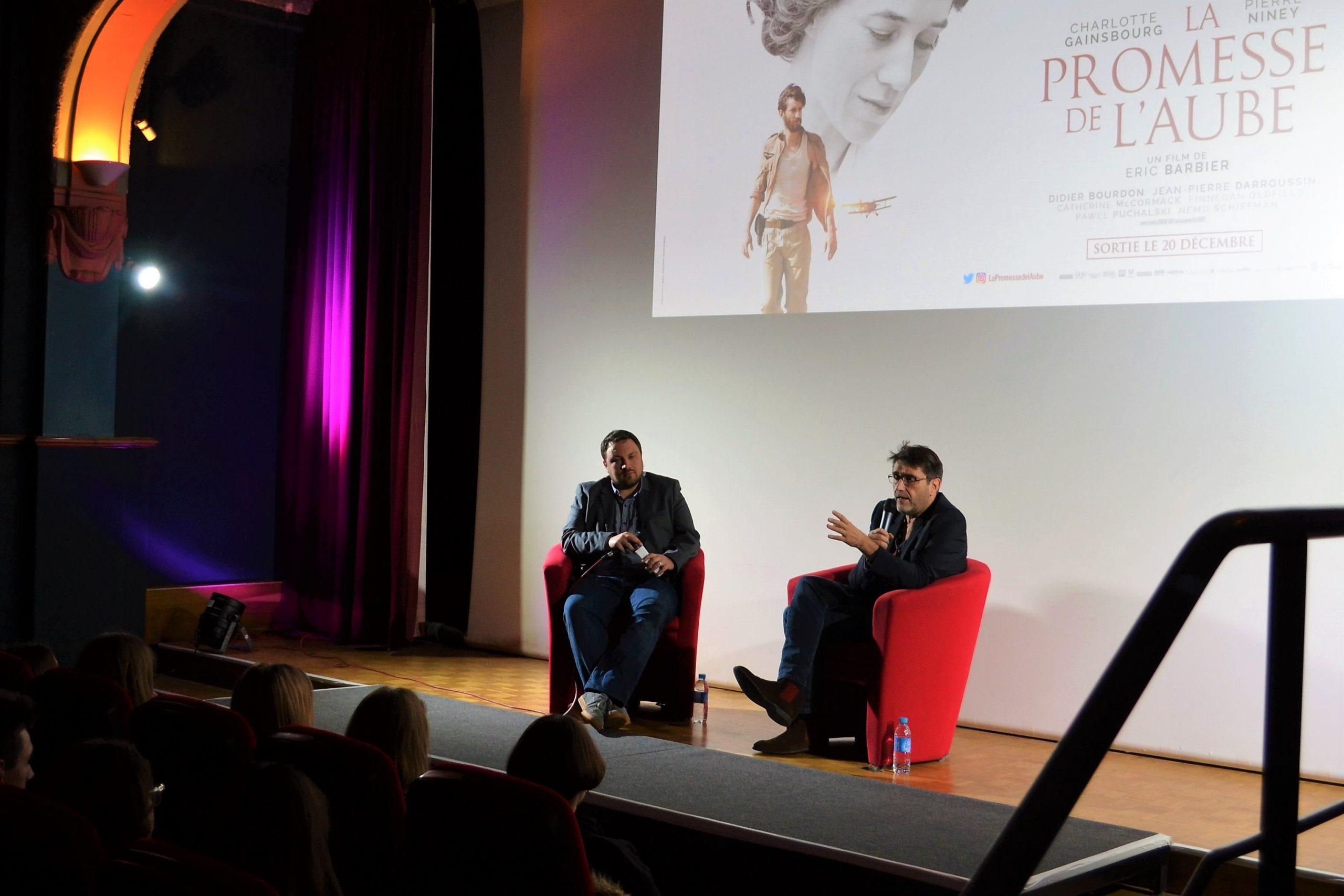 La promesse de l'aube : Eric Barbier raconte l'adaptation de la folle vie de Romain Gary