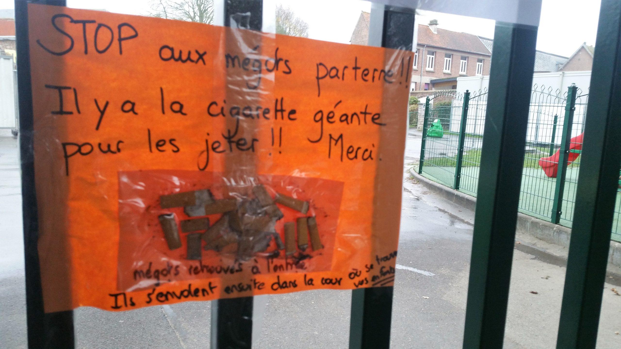 Saint-Pol : à l'école Pignion, on ne mégote pas avec l'environnement