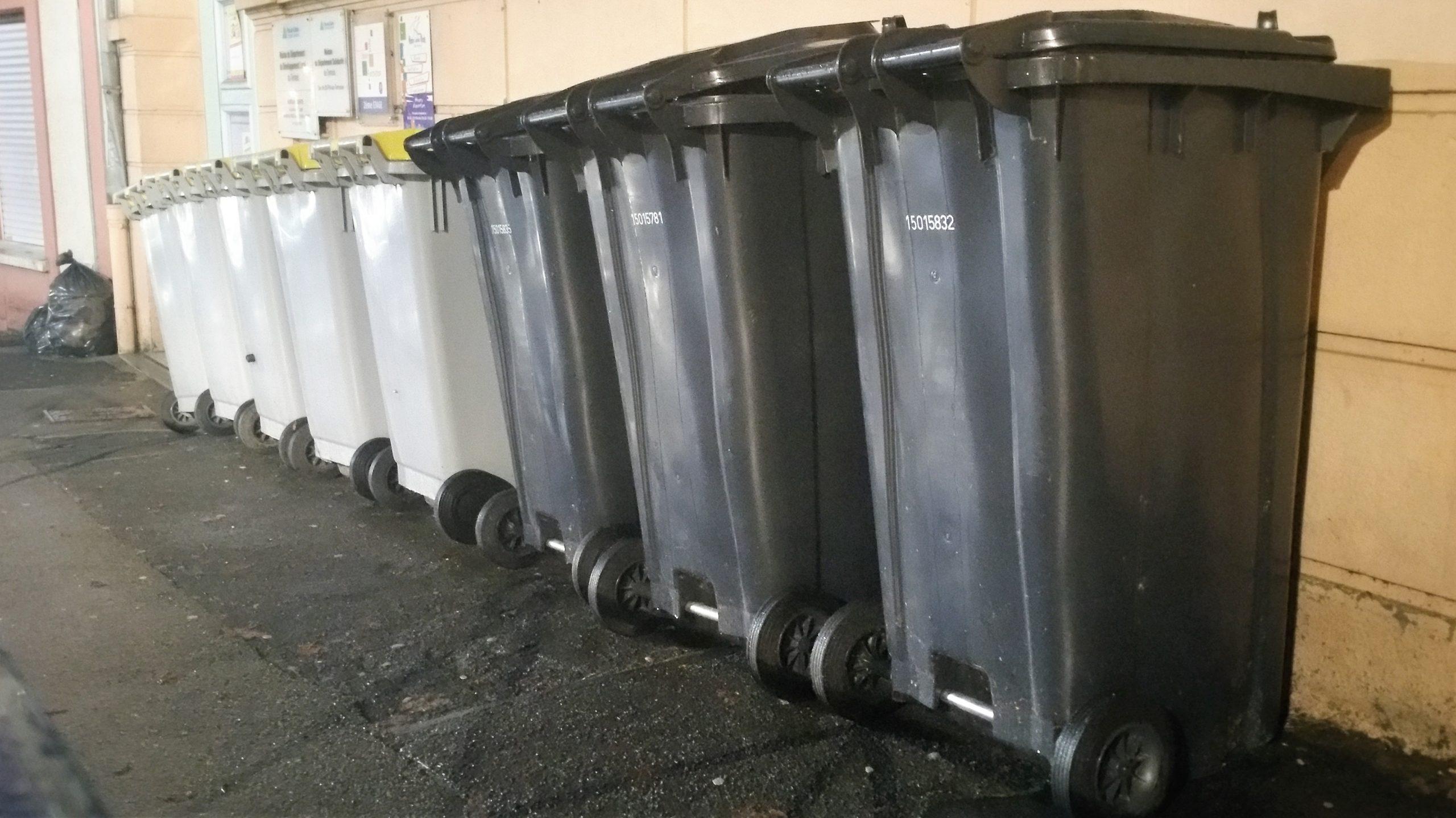 Le ramassage des ordures divisé par deux à partir du mois de janvier
