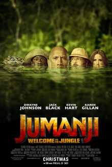 Jumanji, Welcome to the jungle: une petite partie?