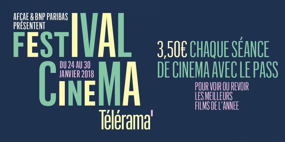 Six des meilleurs films de 2017 et une avant-première pour 3,50€ la séance