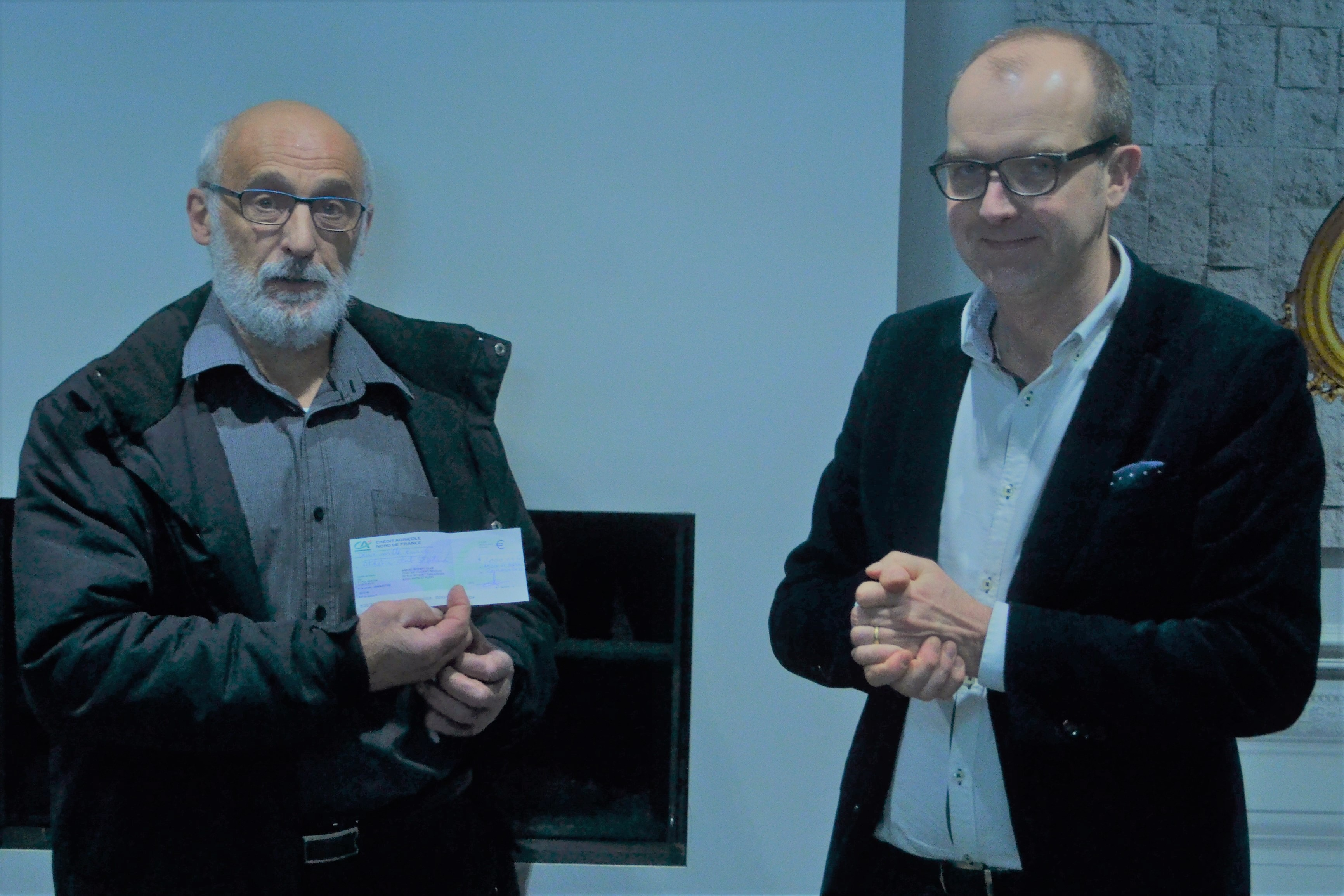 Le Rotary remet deux mille euros à l'Athlétic Club pour sa contribution à la Belvalissime