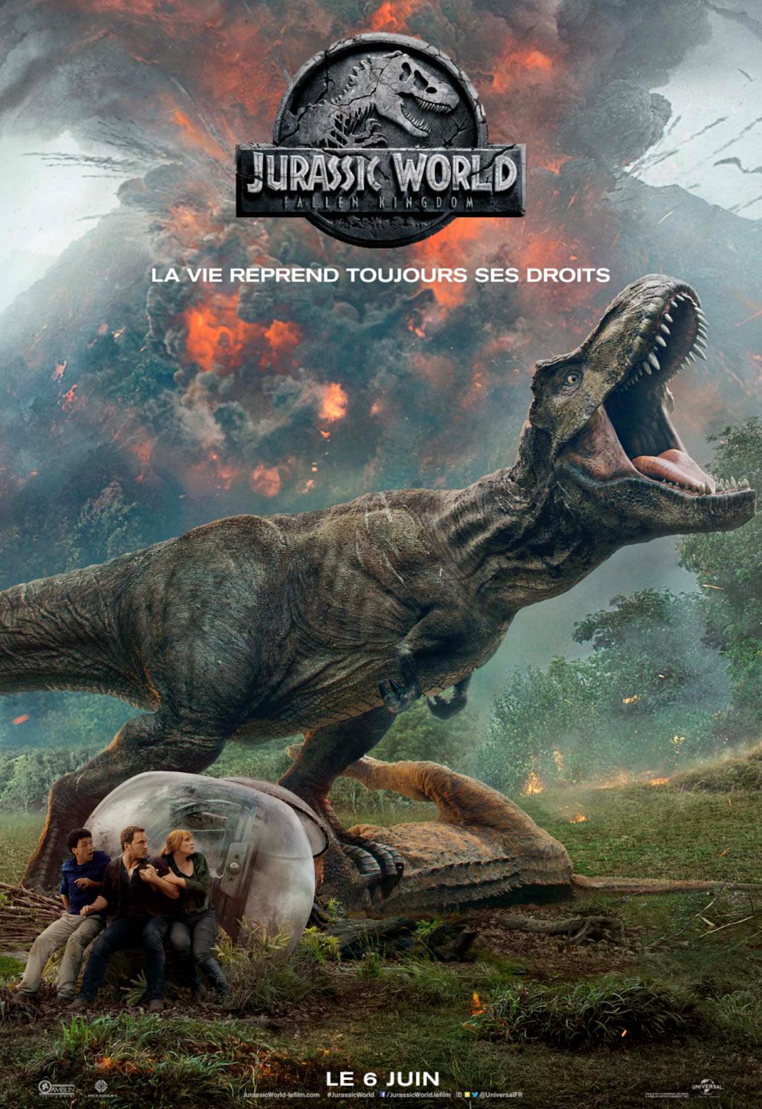 Jurassic world, fallen kingdom: un espoir étouffé dans l'œuf