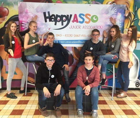 Un financement participatif pour les jeunes d'Happy Asso soutenu par le département