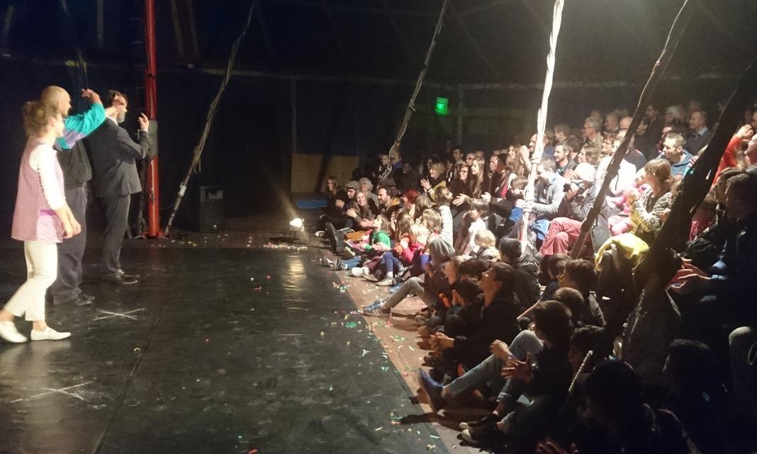 Un spectacle sur les sans-abri pour la dernière de l'année à Cirqu'en Cavale