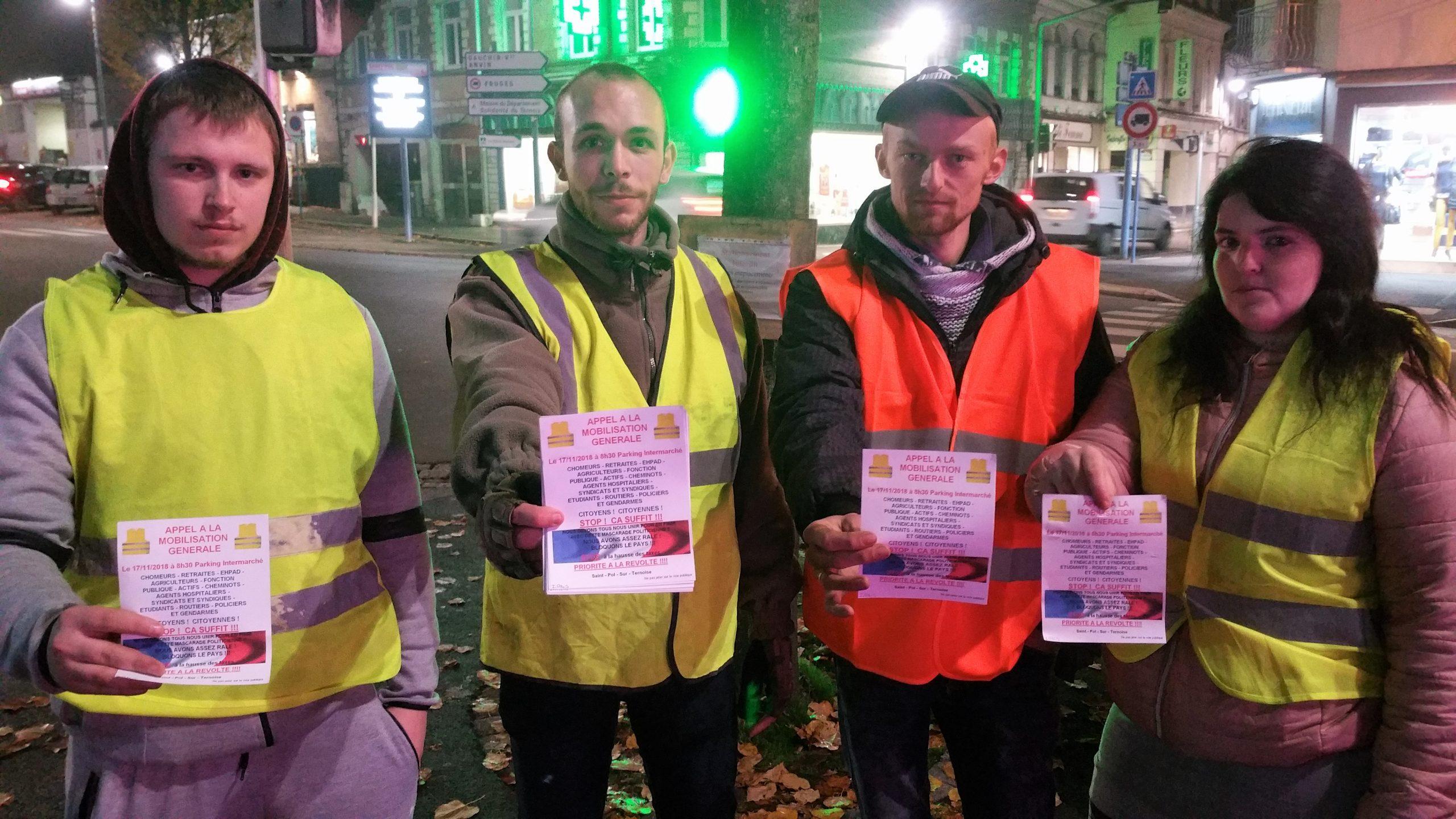 À St-Pol, pas de blocage total mais une action d'ampleur, organisée et déclarée