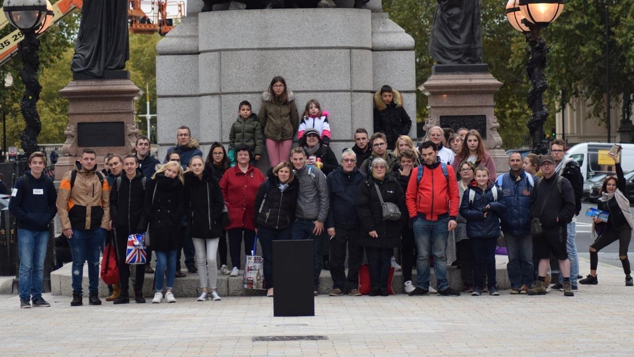 Des Saint-Polois visitent Londres grâce aux jeunes d'Happy Asso