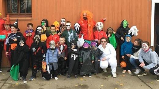 Les monstres ont débarqué dans le Ternois pour Halloween et la fête à Marie-Grauette