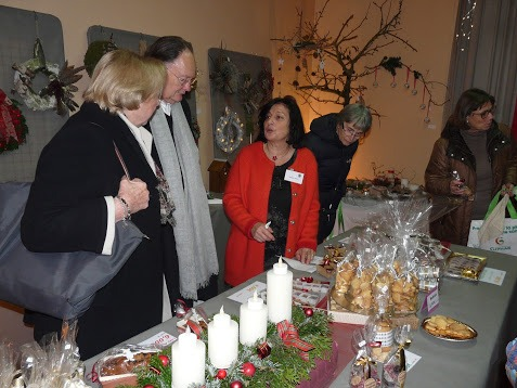 Le Rotary à l'abbaye, les Bobos à la ferme et le Père Noël au marché solidaire