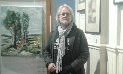 Simon Korving, le peintre hollandais de Boubers, expose au musée de St-Pol