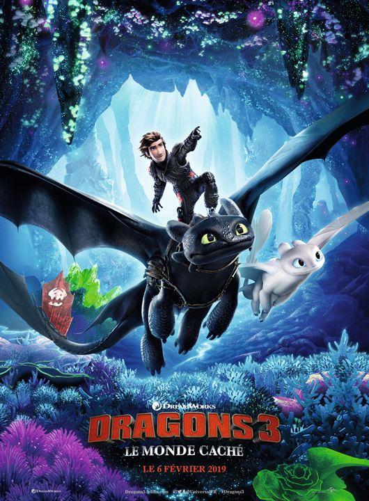 Dragons 3, le monde caché : tout feu tout flammes