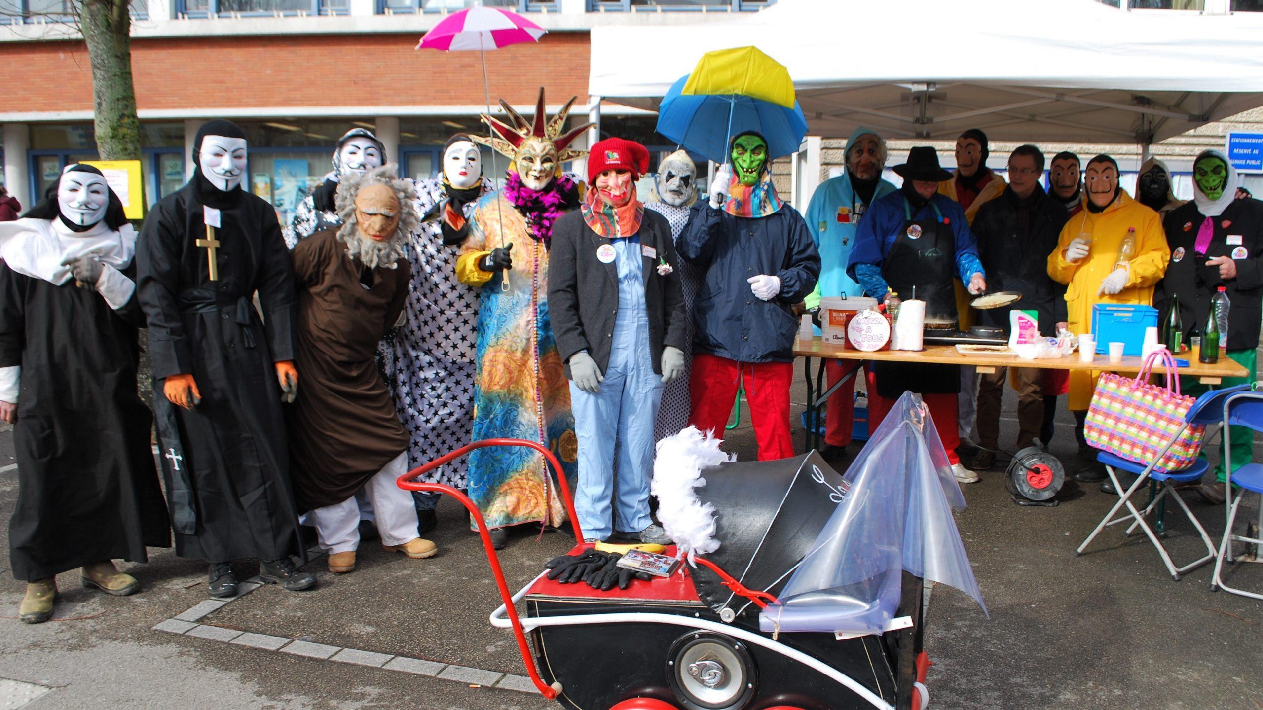 Le carnaval est lancé et les salauds sont prêts pour la grande fête de Mardi gras