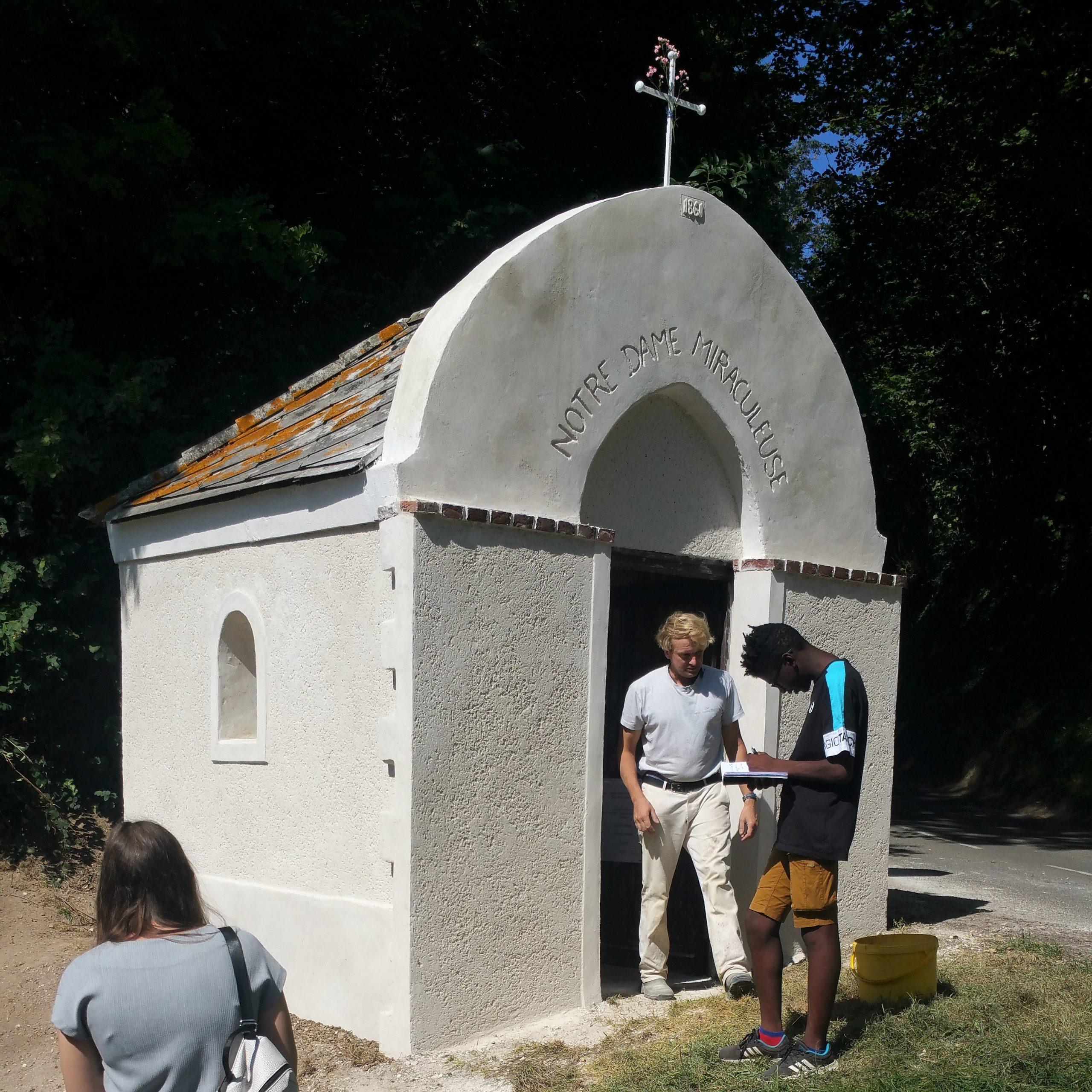 En quelques jours, la petite chapelle de Gauchin-Verloingt a retrouvé son éclat
