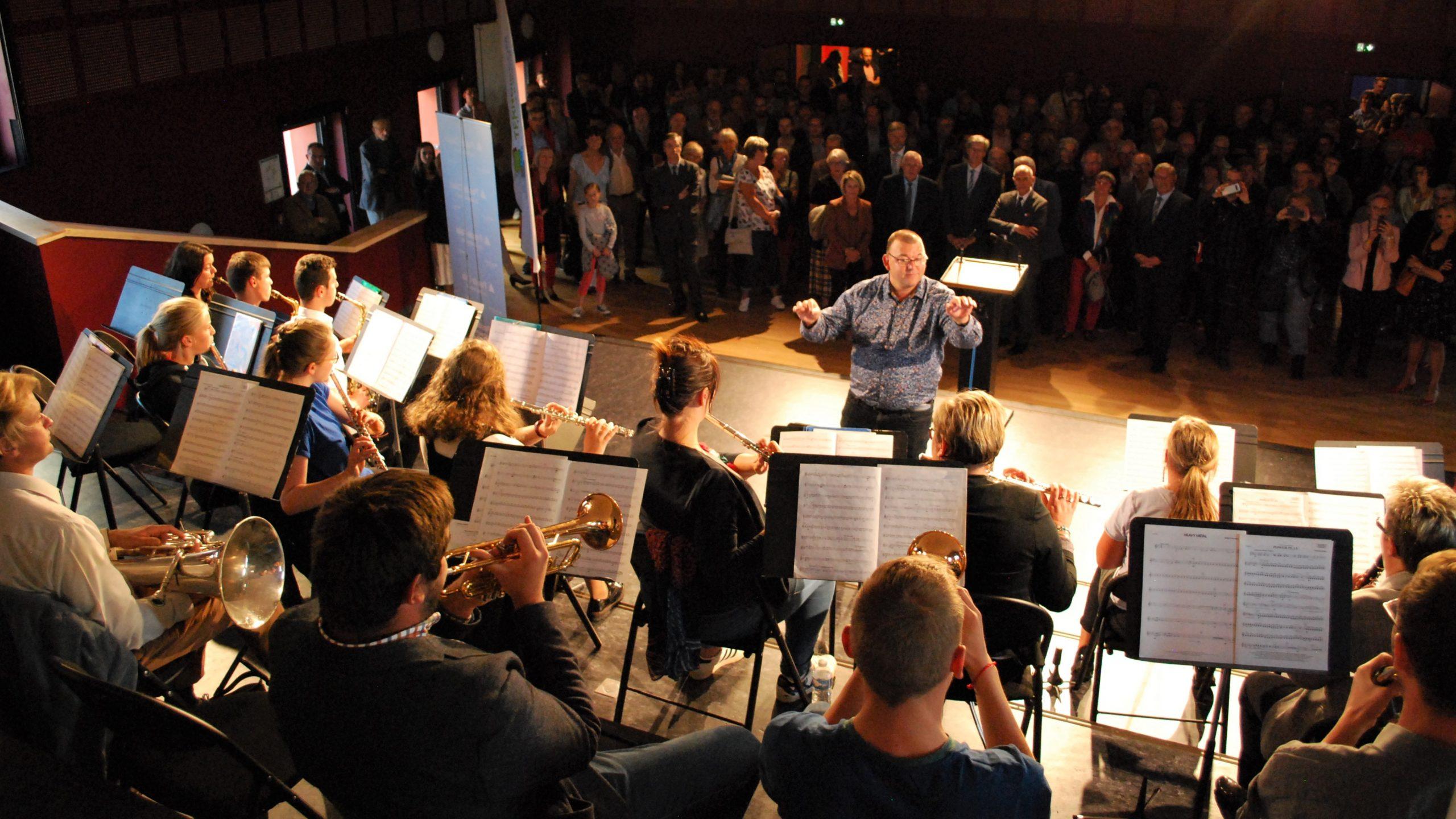 Les artistes enchantés par la nouvelle école de musique intercommunale