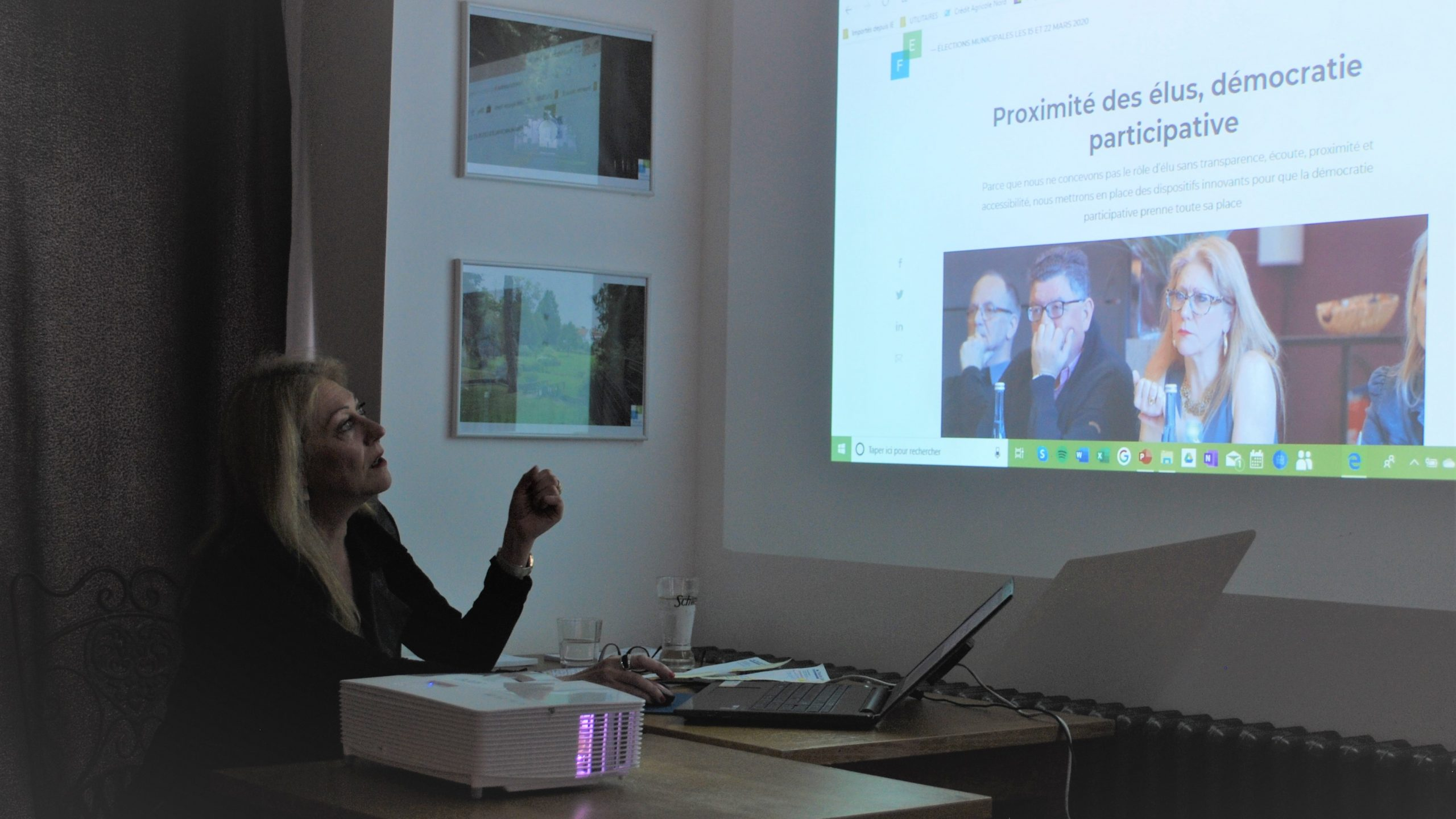 Ginette Beugnet, candidate déclarée à Frévent : le discours de la méthode
