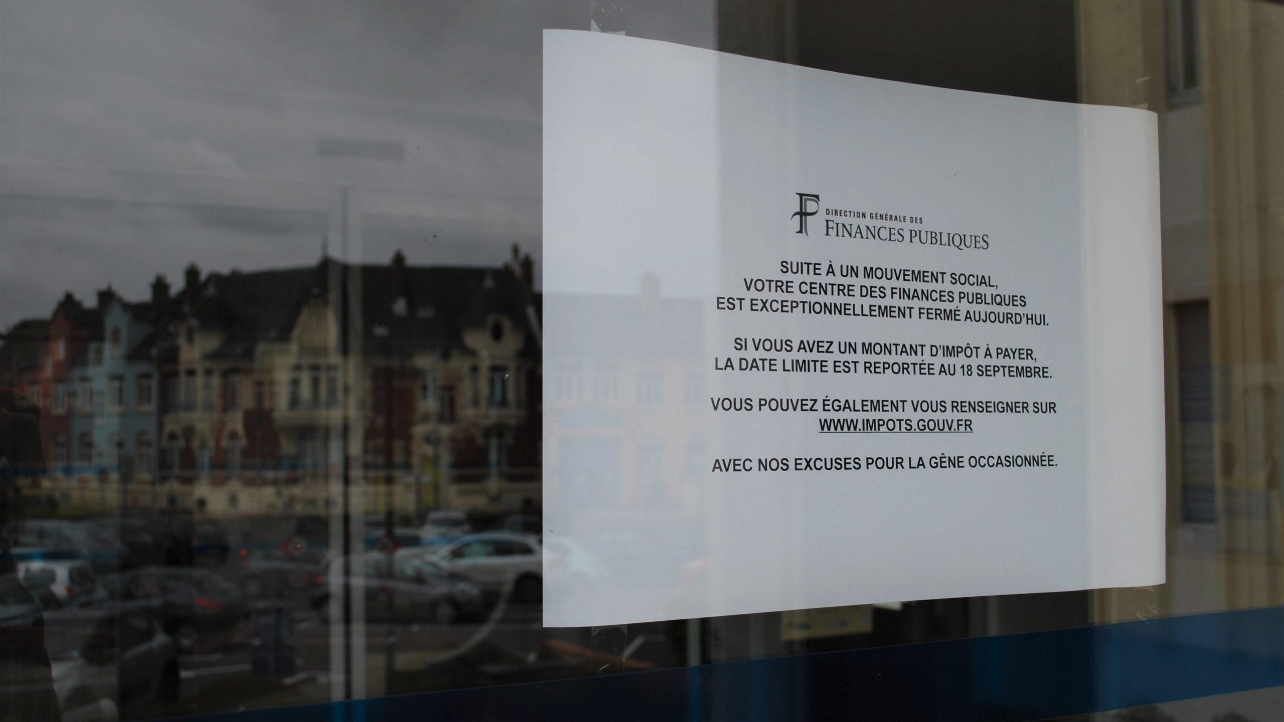 Deux ans de sursis pour l'accueil du public au centre des finances de Saint-Pol
