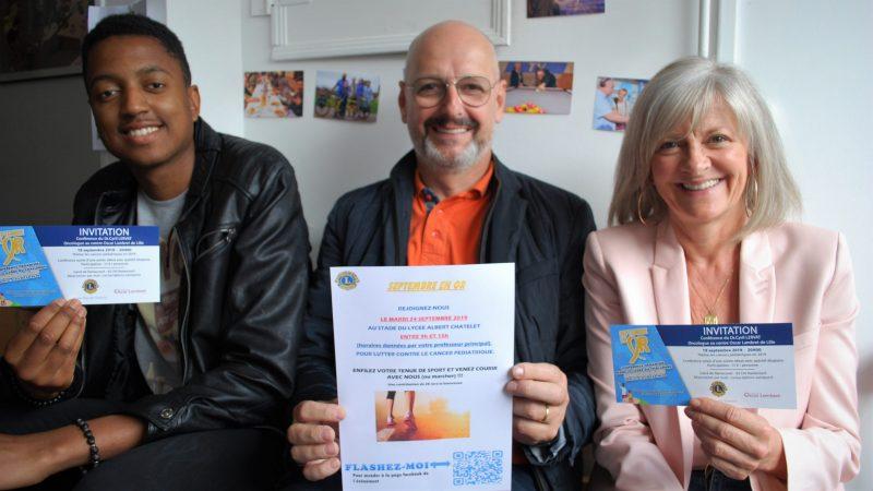 Le Lion's Club mobilise près de 1 500 élèves du Ternois contre les cancers des enfants