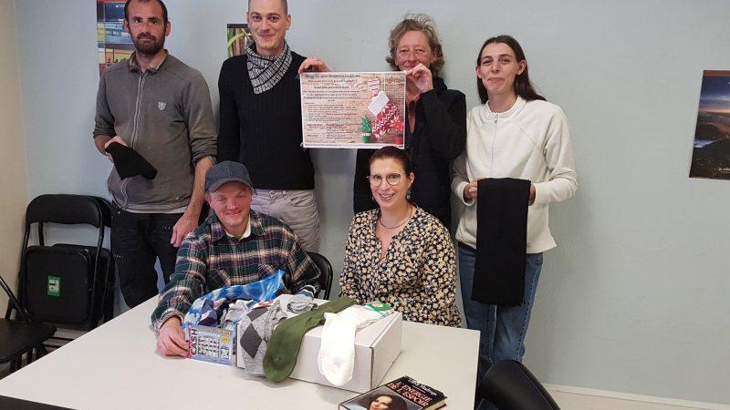Les membres de Passeport'Forma s'associent à la collecte de Noël pour les sans-abris de Belval