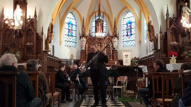 Un concert de clarinettes pour mettre en valeur la rénovation de l'église de Croisette