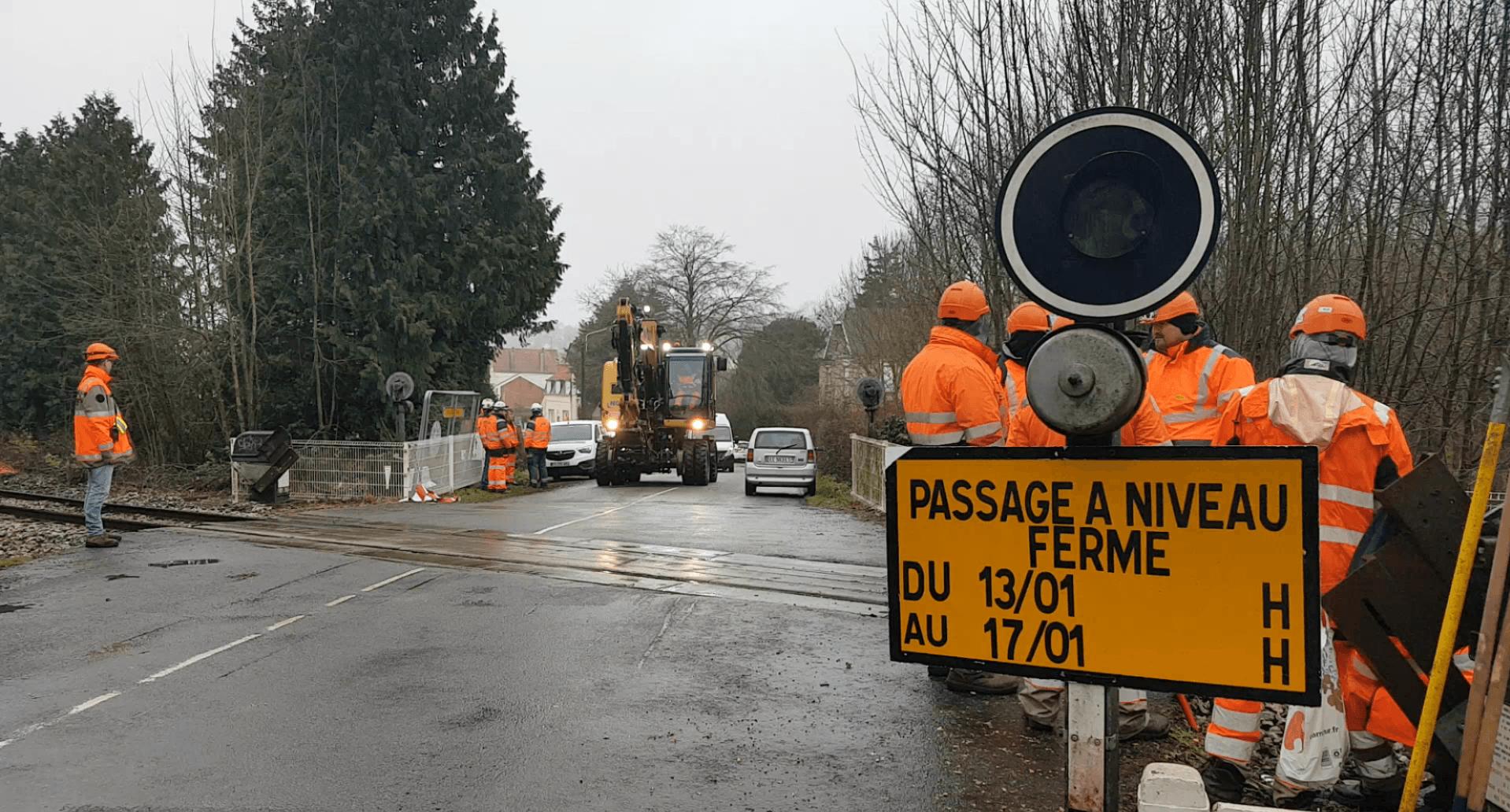 Lancement des travaux sur les lignes TER et début de la pagaille sur les routes