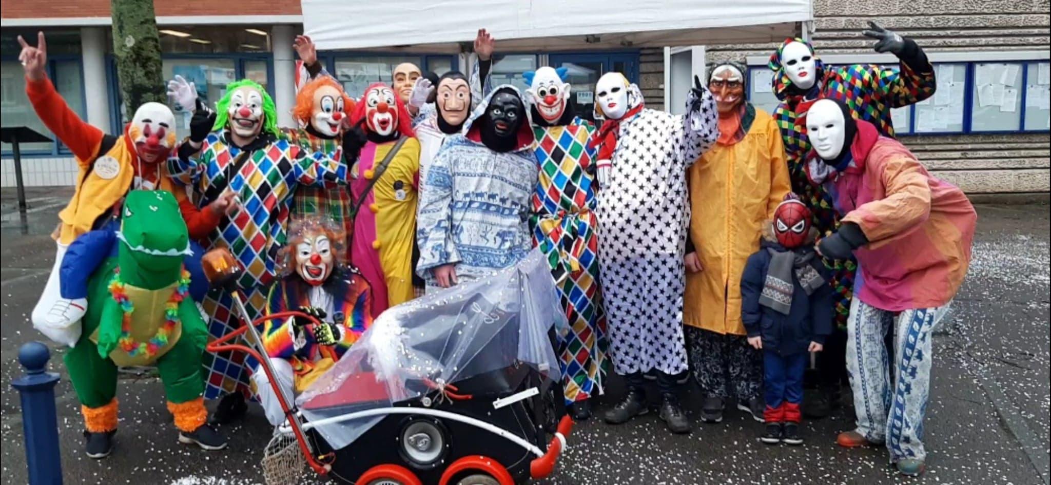 Les carnavaleux de Saint-Pô prêts pour la grande fête de Mardi Gras