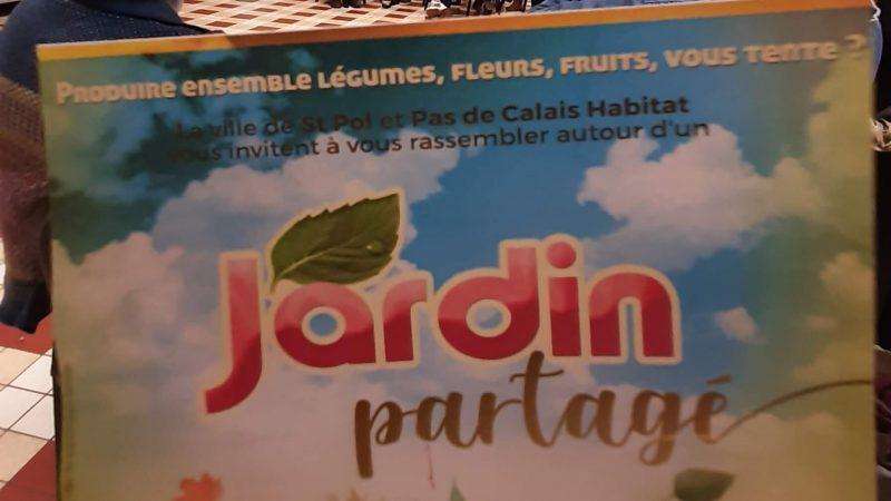 Un jardin partagé ouvert à tous les habitants de Saint-Pol