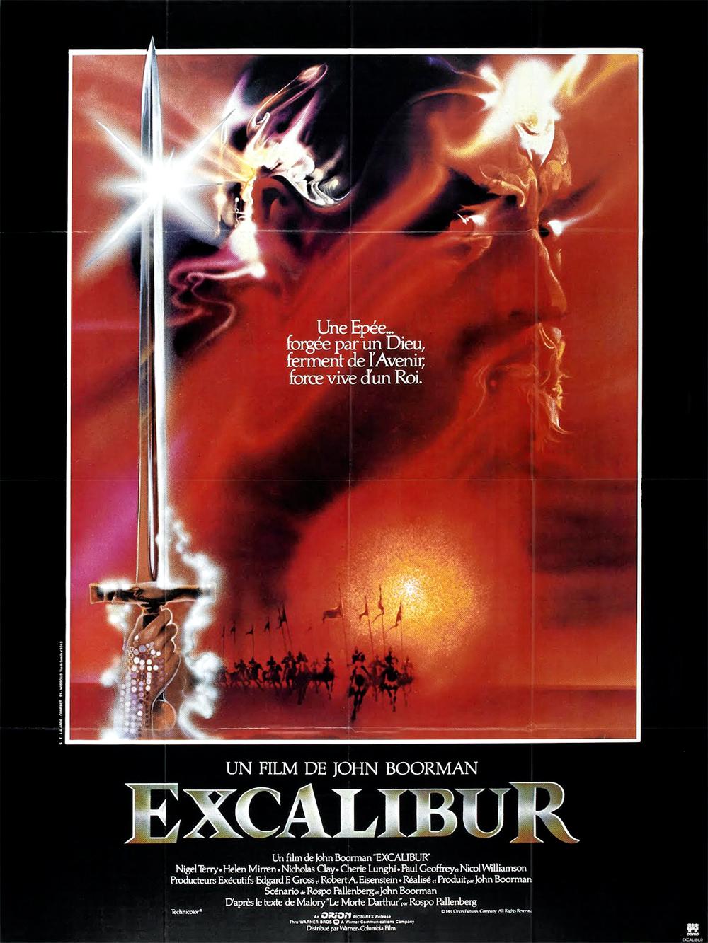 Excalibur : le mythe décisif