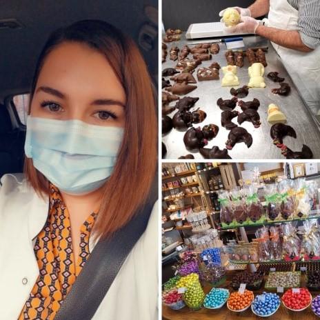 La chocolaterie et la boulangerie Hemelsdaël essaient de limiter la casse pour les fêtes de Pâques