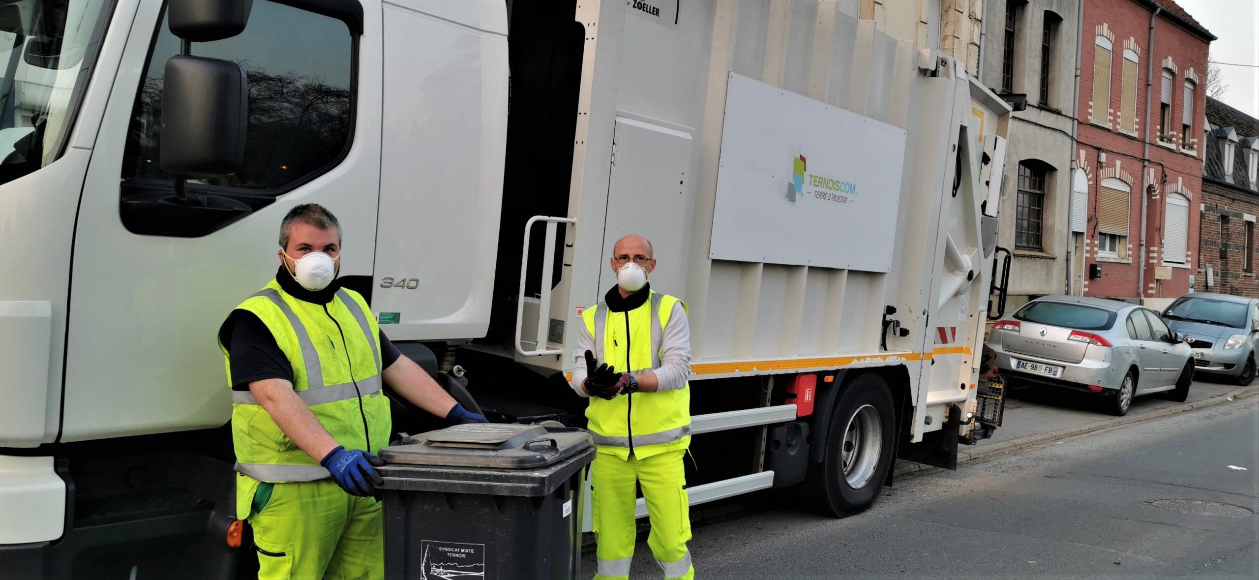 Les agents de TernoisCom toujours mobilisés pour assurer la collecte des déchets