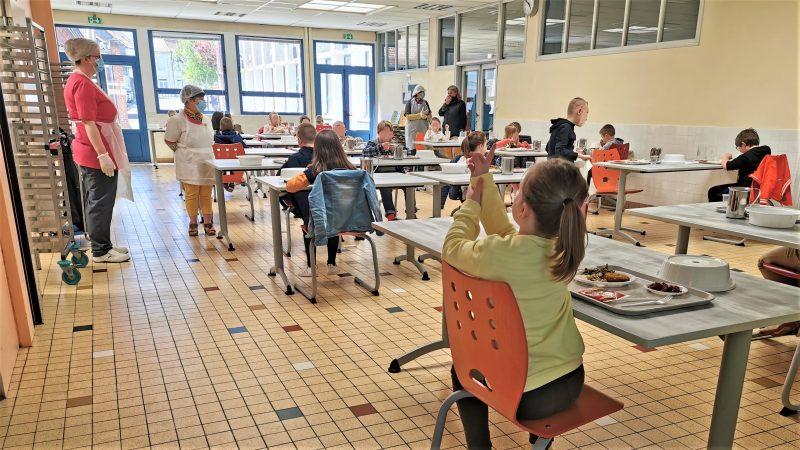 Accueil limité à la cantine et la garderie du groupe scolaire de Saint-Pol