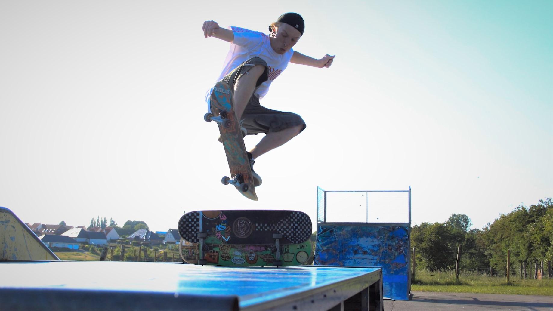 La jeune génération de riders rêve d'une nouvelle vie pour le skatepark de Saint-Pol
