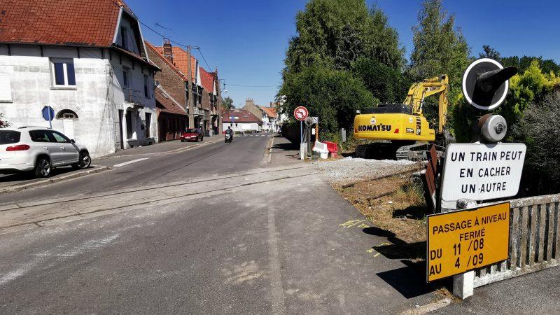Saint-Pol : la rue d'Hesdin coupée en deux du 11 août jusque début septembre