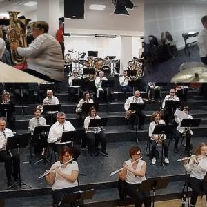 Privée de public, la Musique de Saint-Pol offre un concert tous les soirs sur la toile