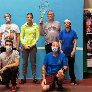 L'équipe de tennis adapté de Saint-Pol s'entraîne pour retourner au championnat de France