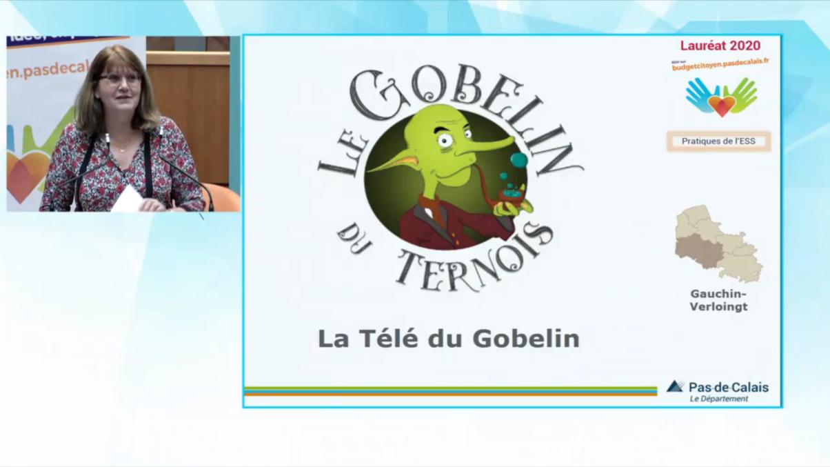 La Télé du Gobelin est lauréat du Budget citoyen 2020 grâce à vos votes