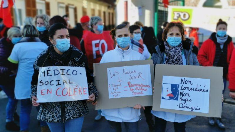 Les salariés du médico-social exigent d'être traités comme leurs collègues de l'hôpital