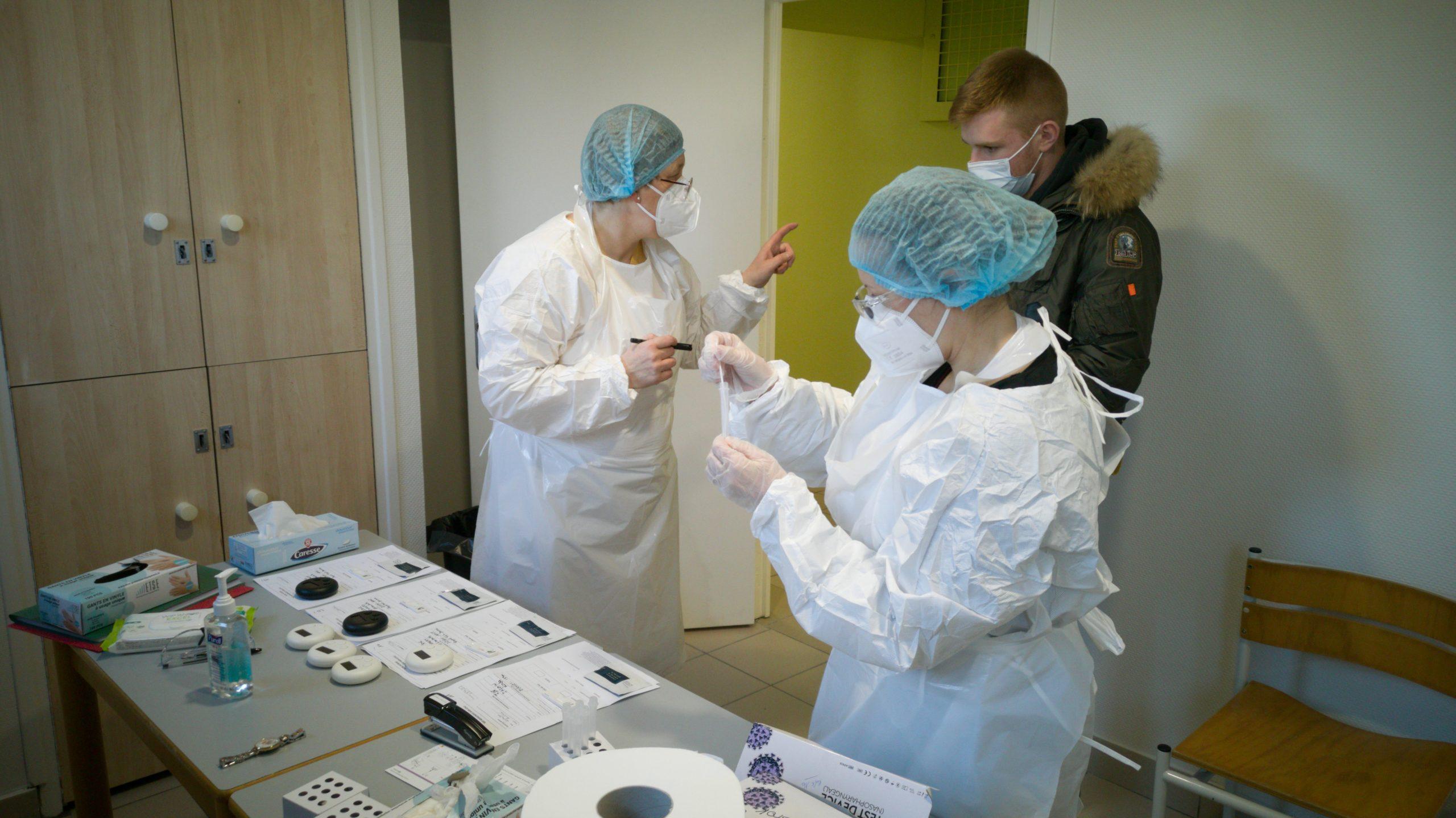 Saint-Pol : vaste opération de dépistage au lycée Châtelet, aucun cas de Covid-19 détecté
