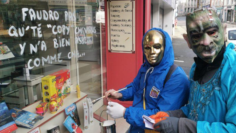 Masque obligatoire pour tous les Salauds de Saint-Pô