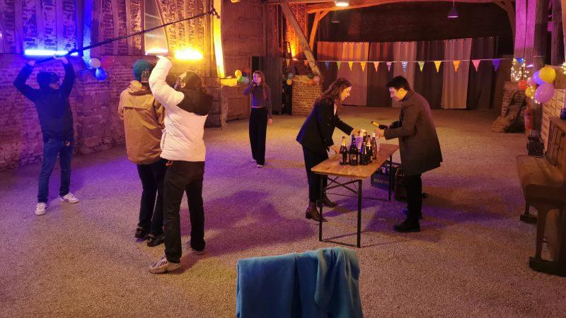 Bailleul-aux-Cornailles : une grande soirée pour conclure le tournage du court-métrage de Théo Puerta