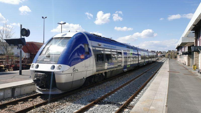 Retour du train en gare de Saint-Pol: les premiers voyageurs attendus le 26 avril