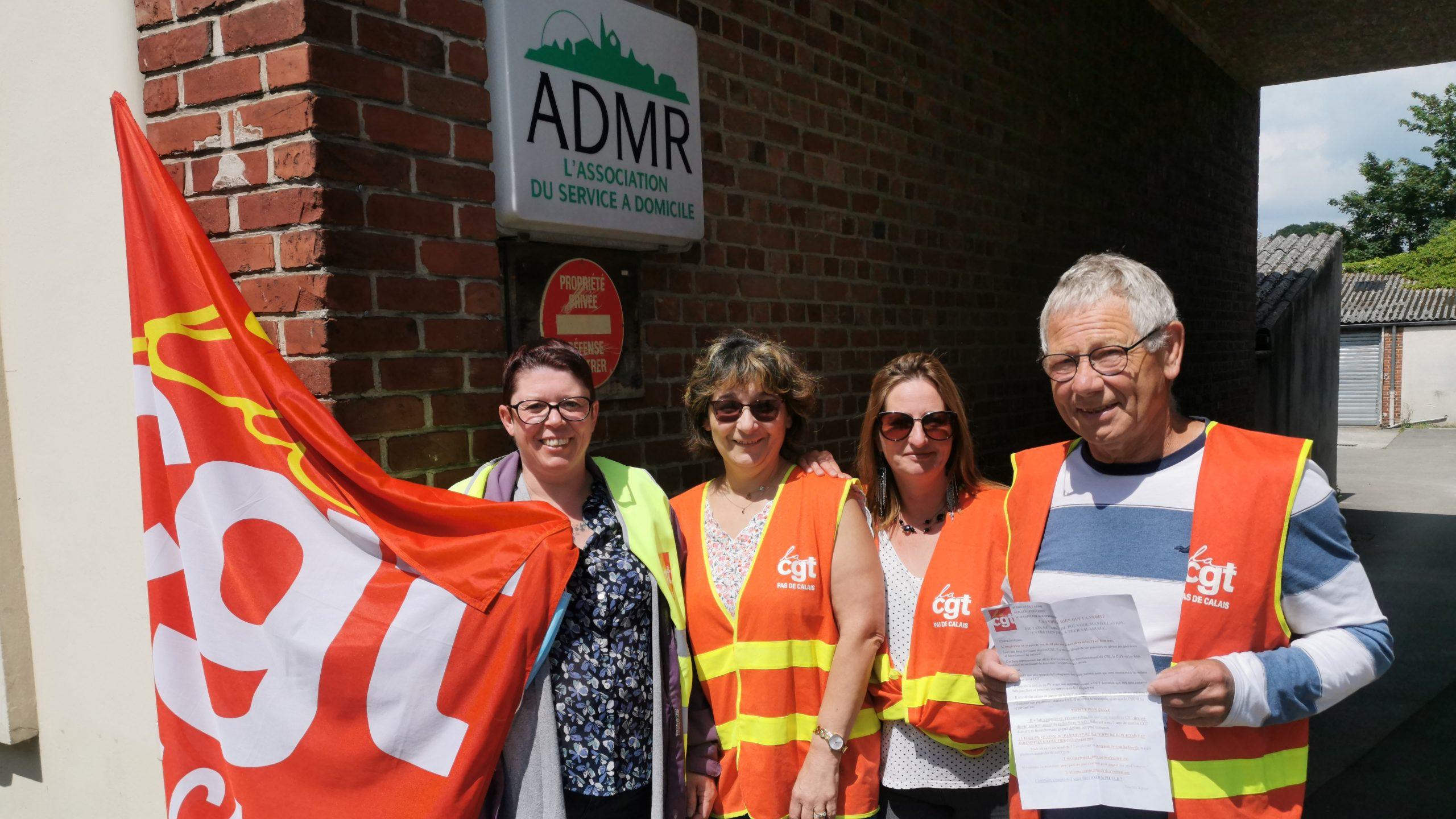 À l'ADMR de Saint-Pol, la lutte continue pour l'indemnisation des trajets des salariés