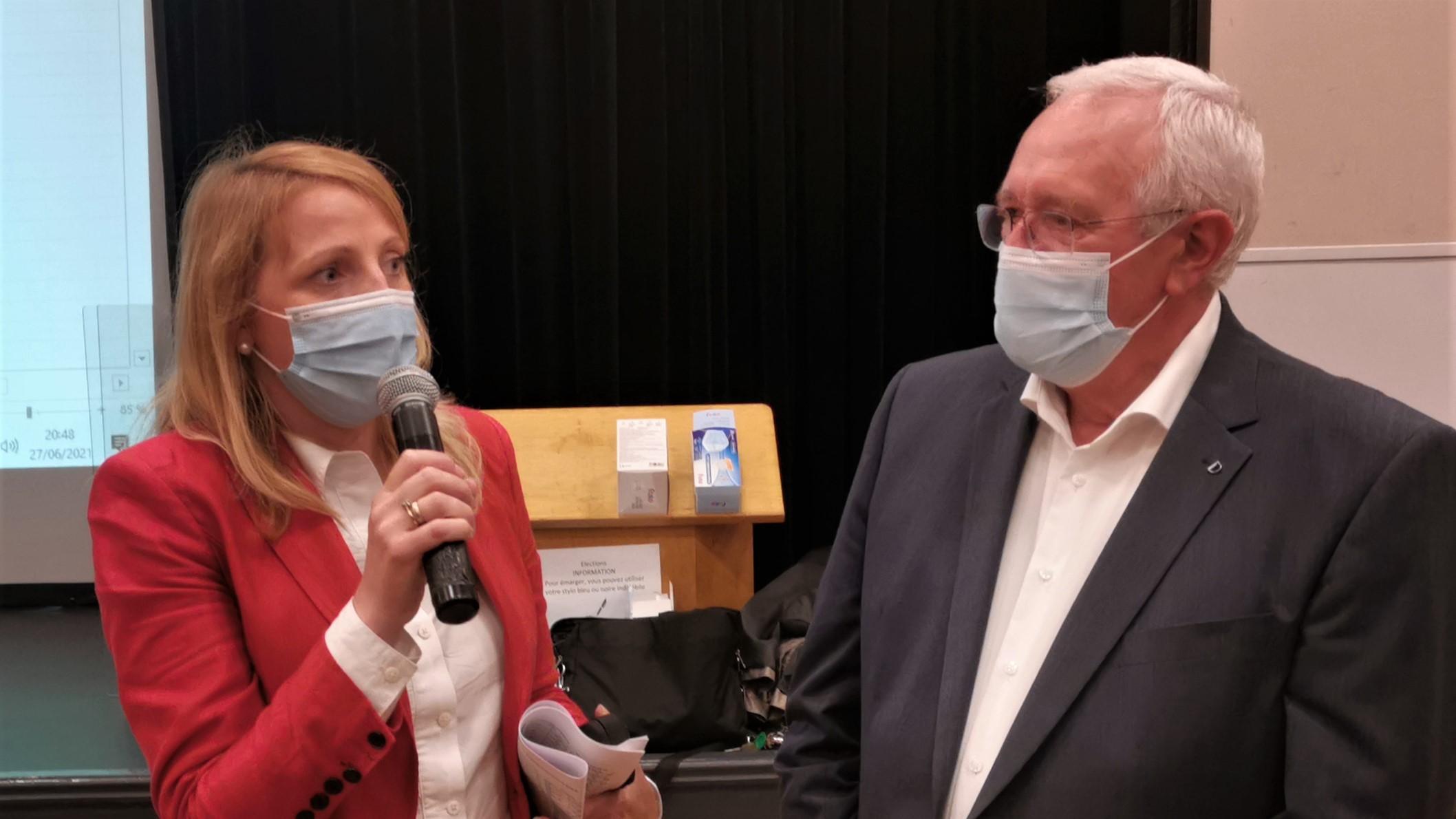 Canton de Saint-Pol : Ingrid Gaillard et Claude Bachelet élus avec 69% des suffrages