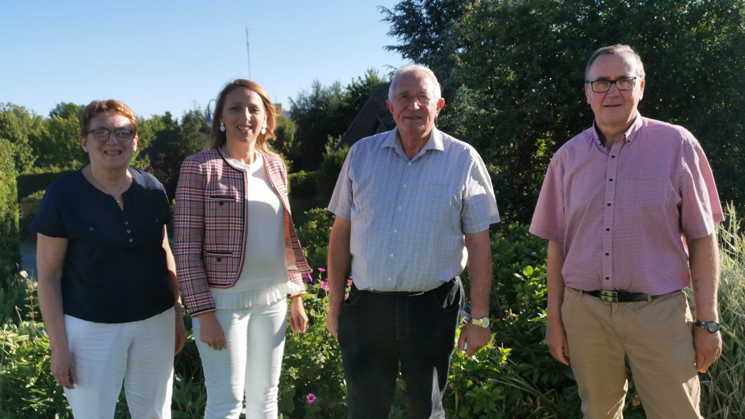 Quatre élus du Ternois pour défendre la droite et le centre dans le canton de Saint-Pol