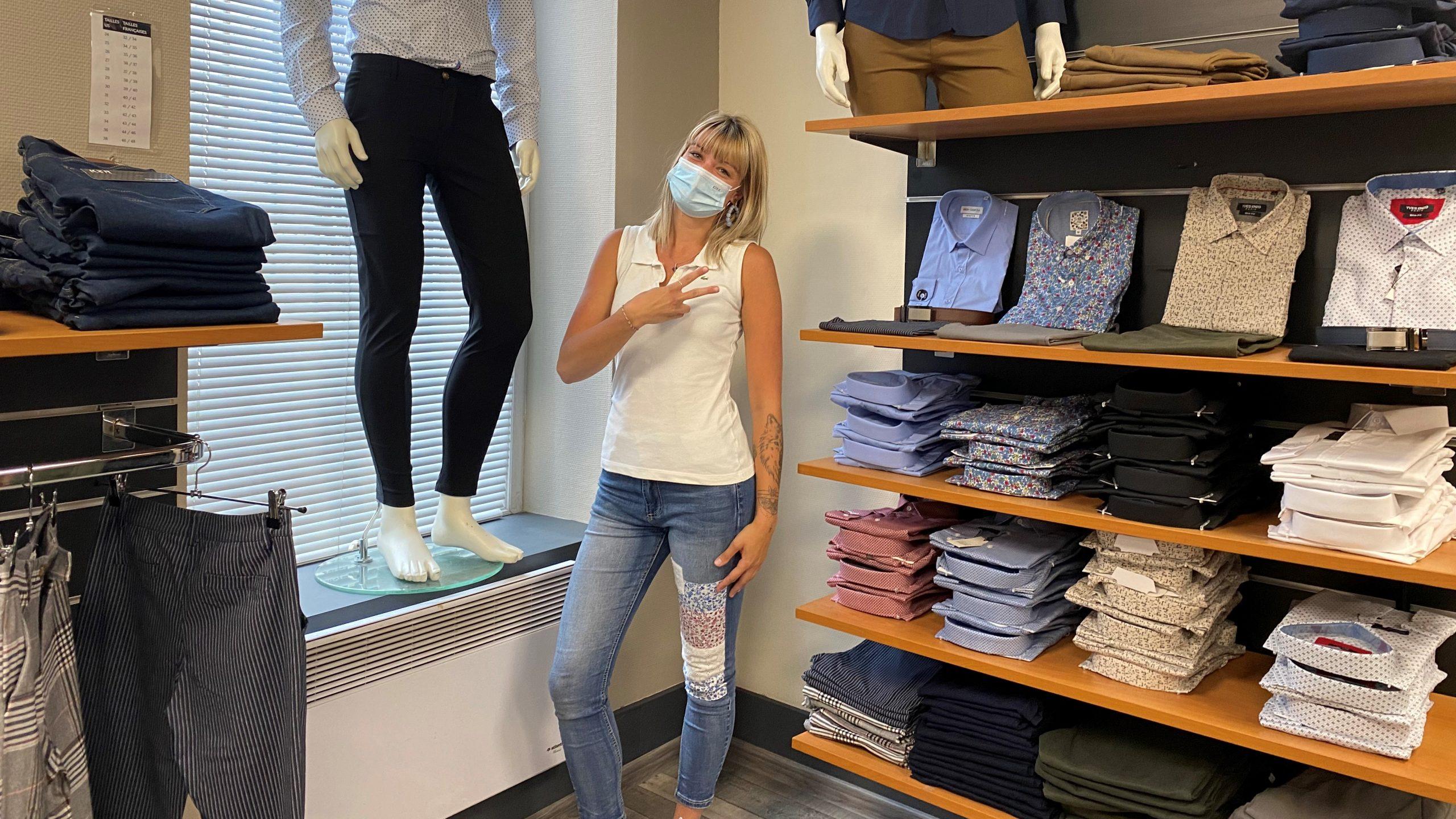 Saint-Pol : Pauline Selom se lance dans le prêt-à-porter masculin avec une boutique à son nom