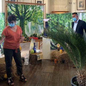 Mercédès Joussé transforme le musée de Saint-Pol en forêt fantastique pour exposer ses créations
