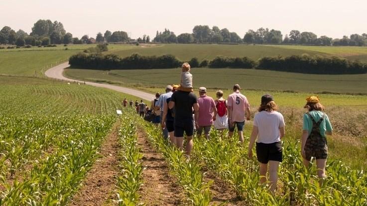 Une Randoferme au départ de Nuncq-Hautecôte pour redécouvrir la réalité des agriculteurs