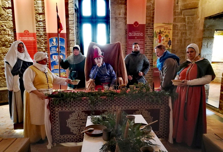Waléran III, comte de Saint-Pol, invite tous ses sujets à une grande fête le 28 août 1380