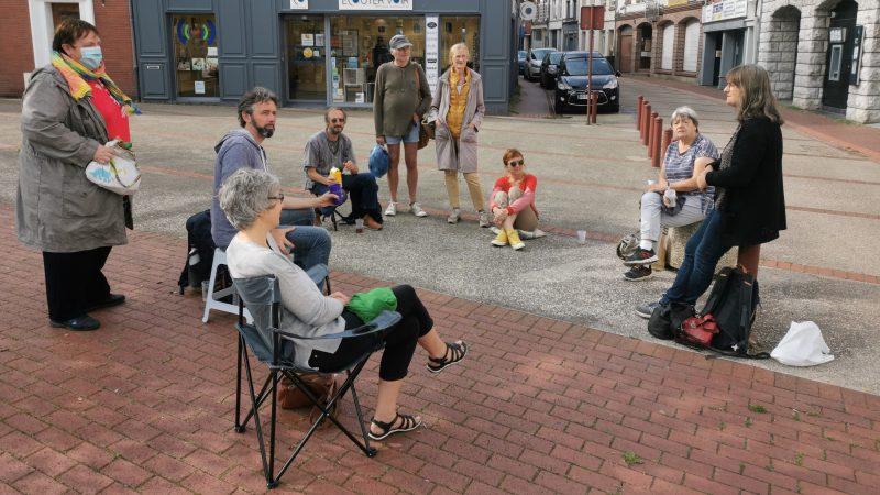 Saint-Pol : un café éphémère rassemble une dizaine d'opposants au pass sanitaire